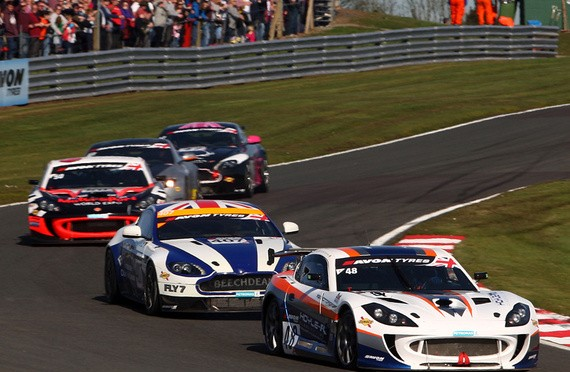 British GT Returns To Rockingham For Round two
