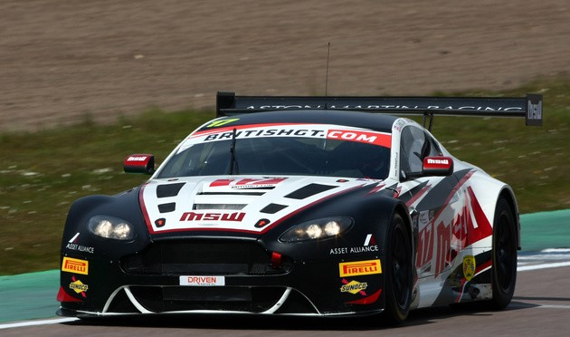 TF Sport Takes British GT Pole At Rockingham