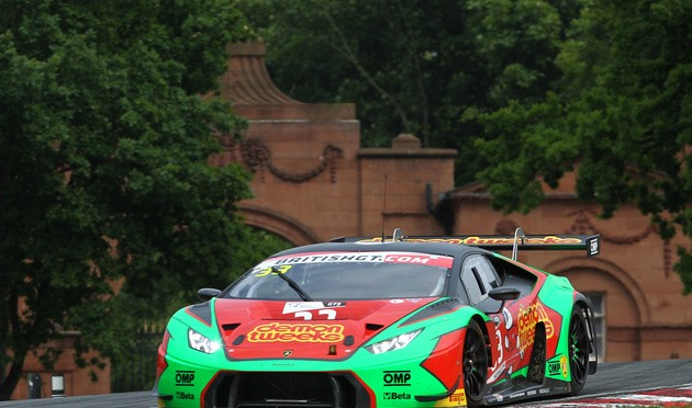 Barwell Motorsport Locks Out Front Row For British GT Round Three