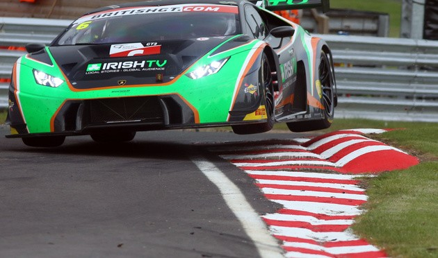 Griffin And Carroll Take Maiden Win For Barwell Motorsport's Lamborghini Huracán In British GT