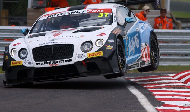 Morris And Parfitt Take First Victory Of The Season For Team Parker Racing In British GT
