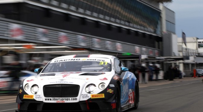 Team Parker Racing Take Pole For British GT At Silverstone