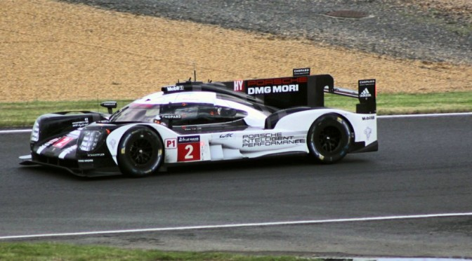 Porsche Tops Timesheets At Le Mans Practise