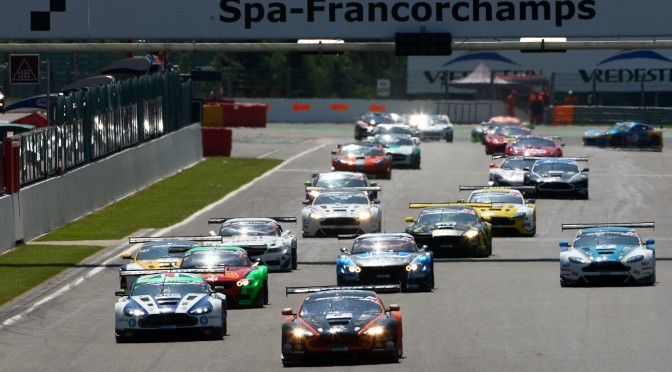 Packed Grid As British GT Championship Travels To Spa For Round 6