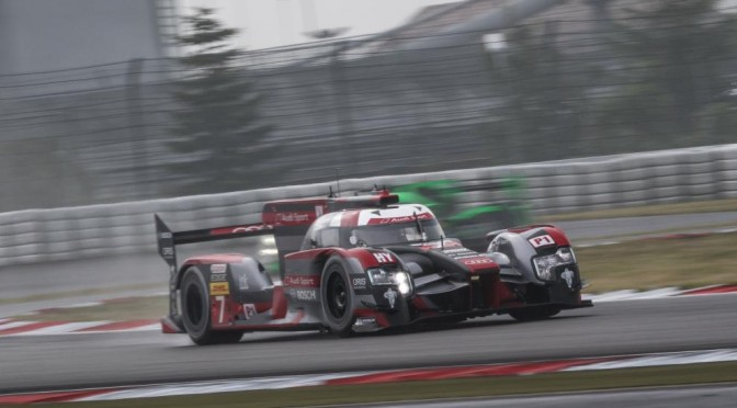 Audi Sport Team Joest Lock Out Front Row For WEC At Nürburgring (23.07.16)