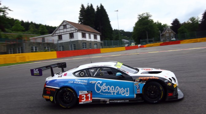 Team Parker Racing Claim Fourth British GT Pole At Rain-Affected Spa