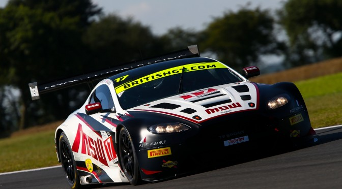 TF Sport Tops Time Sheets In British GT FP1 (06.08.16)