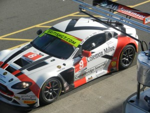 The #8 Motorbase Performance Aston Martin Vantage GT3