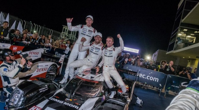 Porsche Team Takes Victory In FIA WEC 6 Hours Of The Circuit Of The Americas
