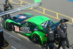 The #88 Team BBA with Rollcentre Racing BMW Z4 GT3.