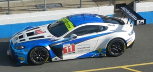 The #11 TF Sport Aston Martin Vantage GT3, driven by Mark Farmer and Jon Barnes