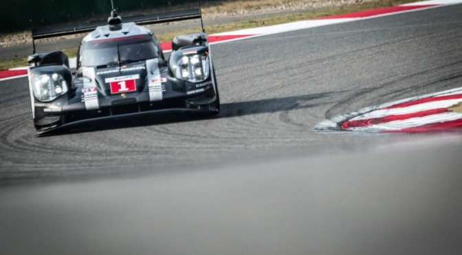 Porsche Closes Out Manufacturers Championship At FIA WEC Shanghai (06.11.16)