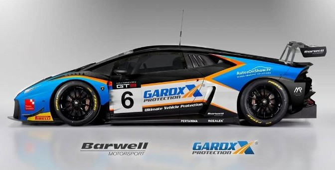 Griffin And Tordoff To Share Barwell Motorsport Huracán GT3 In 2017 British GT Championship (30.11.16)
