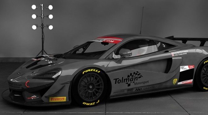 Osborne and Pattison To Campaign McLaren 570S GT4 With Tolman Motorsport For 2017 British GT Championship (23.11.16)
