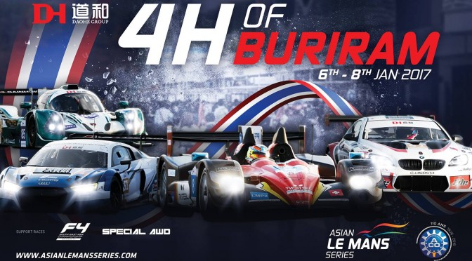 Asian Le Mans Series Moves To Buriram For Round Three (05.01.17)