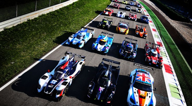 European Le Mans Series Concludes Pre-Season Official Test Session At Monza (30.03.17)