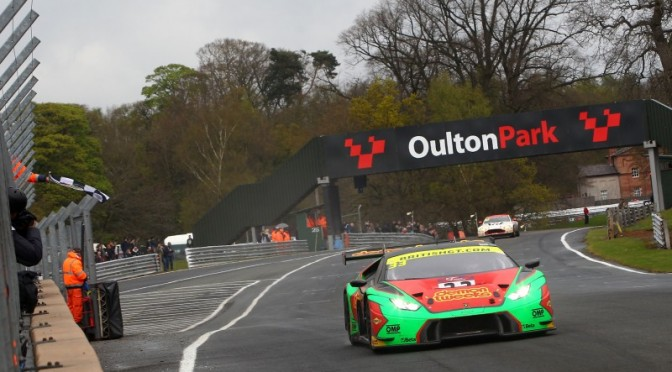Dominant Performance From Barwell Motorsport At Opening Round of 2017 British GT Championship. (17.04.17).