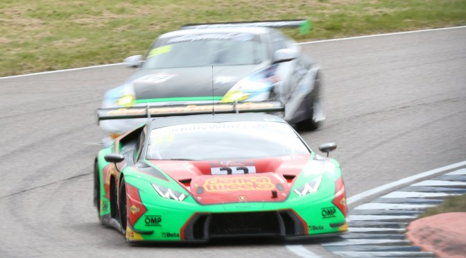 Barwell Motorsport Sets Early Pace in British GT FP1 At Rockingham (29.04.17)