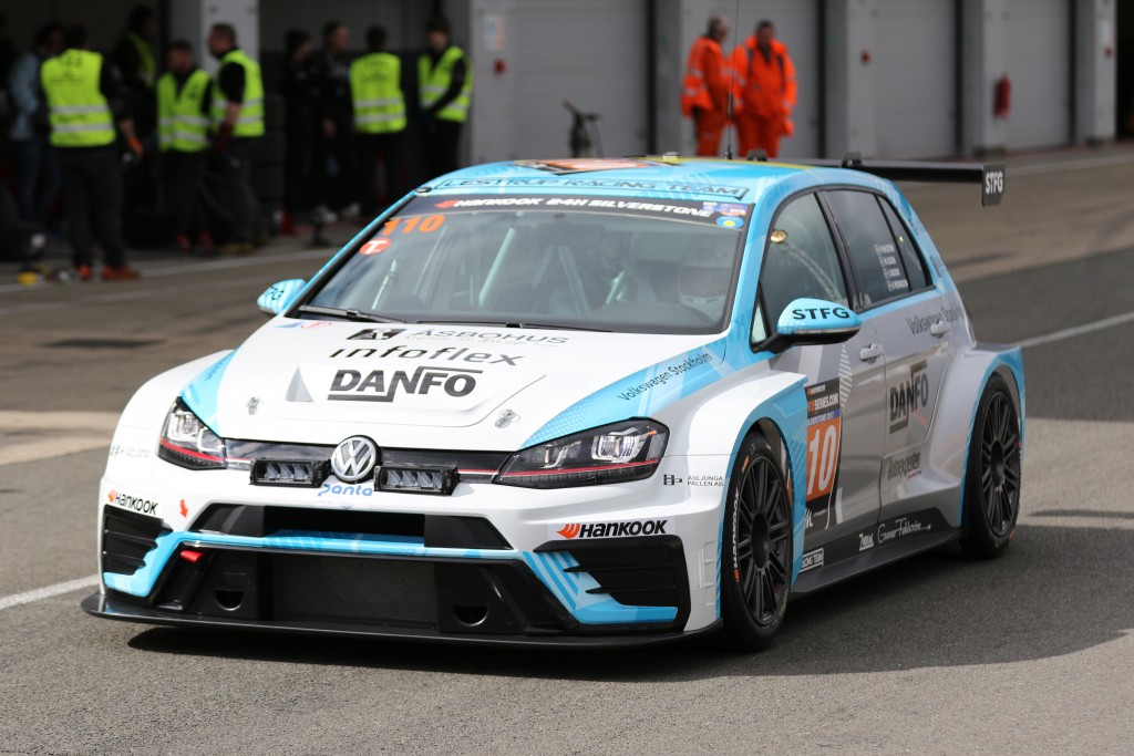 The #110 Lestrup Racing Team VW Golf TCR SEQ