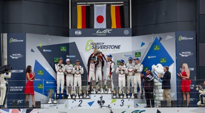 Toyota Gazoo Racing Wins Thrilling FIA WEC 6 Hours Of Silverstone (16.04.17)