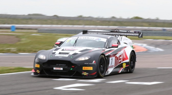 TF Sport 1-2 On The Grid For Round 3 Of 2017 British GT Championship At Rockingham (29.04.17)