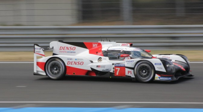 Toyota Gazoo Racing On Pole for 2017 24 Hours Of Le Mans (16.06.17)