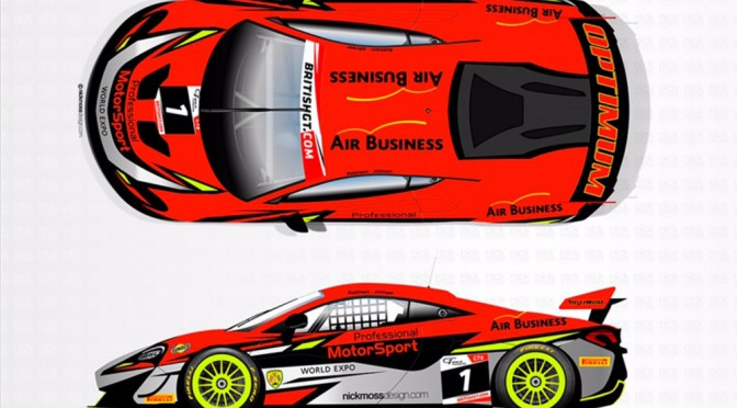 2016 GT4 Champions Johnson And Robinson Switch To McLaren 570S GT4 For British GT Championship (05.06.17)