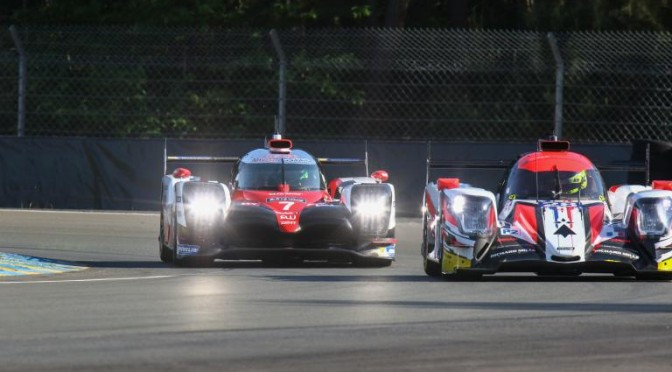 Toyota Gazoo Racing Tops Time Sheets At Le Mans Test Day (04.06.17)