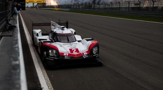 Porsche LMP Team Score 1 – 2 At Nürburgring 16.07.17)