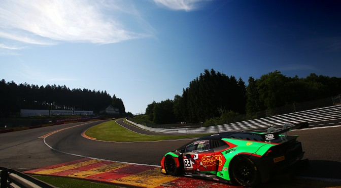 Wins for Barwell Motorsport And Ebor GT In British GT At Spa (08.07.17)