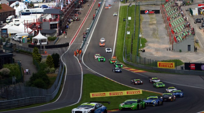 British GT Championship At Spa-Francorchamps For Rounds 7 & 8 (06.07.17)