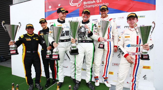 Team Parker Racing's Loggie and Macleod Win In Race 2 Of British GT At Spa (08.07.17)