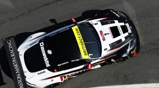 Adam / TF Sport Set Pace In British GT FP2 (05.08.17)