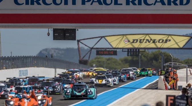 European Le Mans Series Action Returns At Circuit Paul Ricard, Le Castellet. (23.08.17)