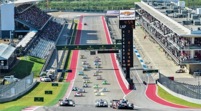 FIA WEC Returns To Texas For Round 6 (14.09.17)