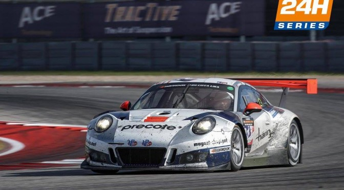 Victory For Herberth Motorsport At Inaugural Hankook 24H COTA USA 2017 (13.11.17)