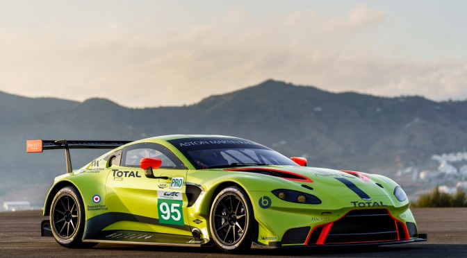 Aston Martin Racing Launches New Vantage GTE (22.11.17)