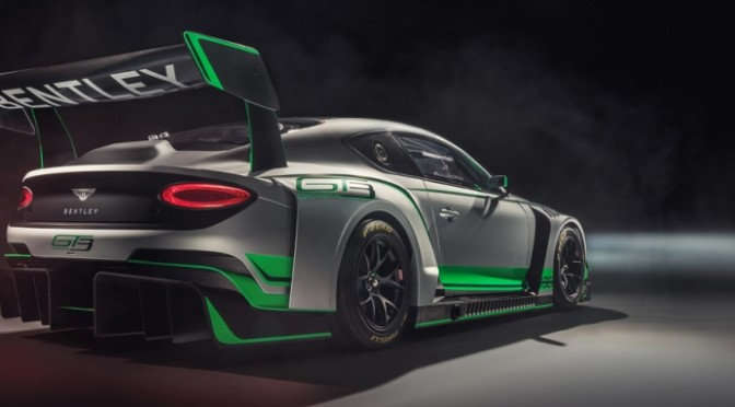 Bentley Motorsport Unveils New Continental GT3 (10.11.17)