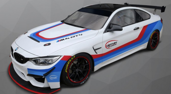 Century Motorsport To Campaign BMW M4 GT4s In 2018 British GT Championship (31.01.18)