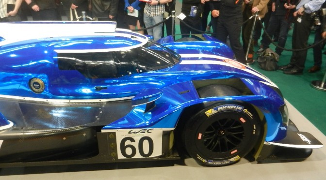 Ginetta's LMP1 Challenger Launched At Autosport Live (11.01.18)