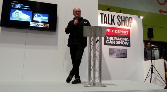 """We Believe That We've Created A Chassis That Is Class-Leading."" Ginetta's Technical Director Ewan Baldry At Autosport 2018 (22.01.18)"