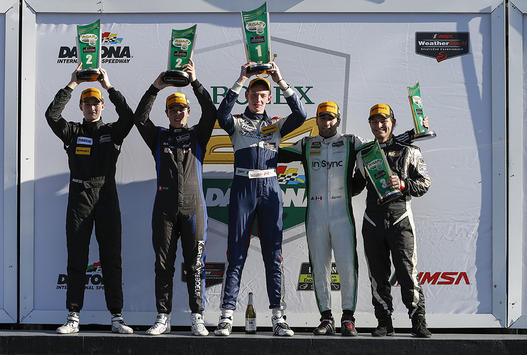 De Angelis Wins IMSA Prototype Challenge Opening Round At Daytona. Dr Masson Takes Victory In MPC. (06.01.18)