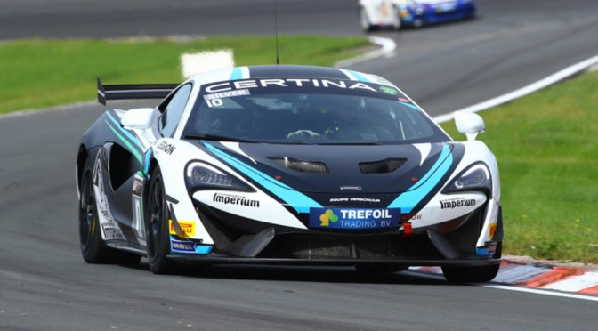 British GT Championship GT4 Entry For Equipe Verschuur And McLaren 570S (28.02.18)