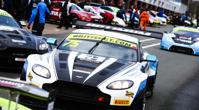 Optimum Motorsport And Adam / Haigh Go Quickest in British GT FP1 (31.03.18)
