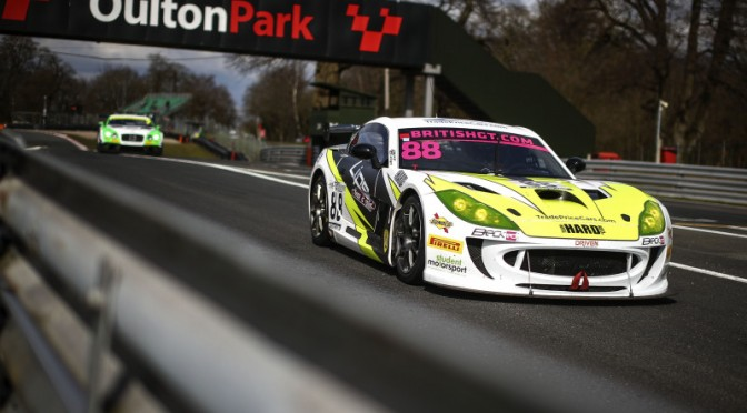 """""""The Car Felt Really Strong"""" – Team HARD's Benjamin Wallace Pleased With The Opening Weekend For the 2018 British GT Championship. (03.04.18)"""
