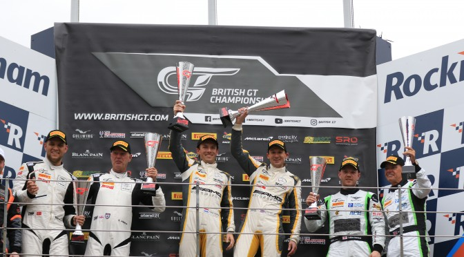ERC Sport Win At Rockingham. HHC Motorsport Takes Victory In GT4. (29.04.18)