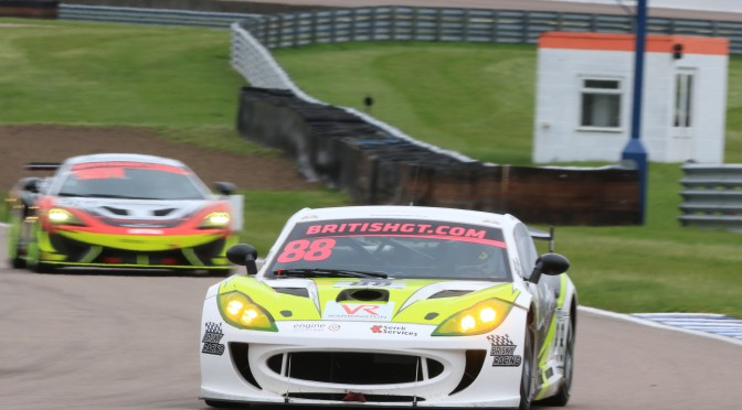 """I have Full Confidence Going Into The Next Round"" – Team HARD's Ben Wallace Takes The Positives From British GT Championship Round Three at Rockingham (29.04.18)"