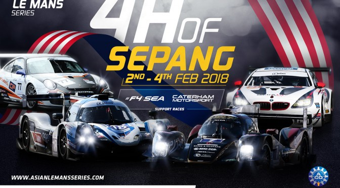 "Asian Le Mans Series – ""Bigger And Better For 2018"" (15.05.18)"