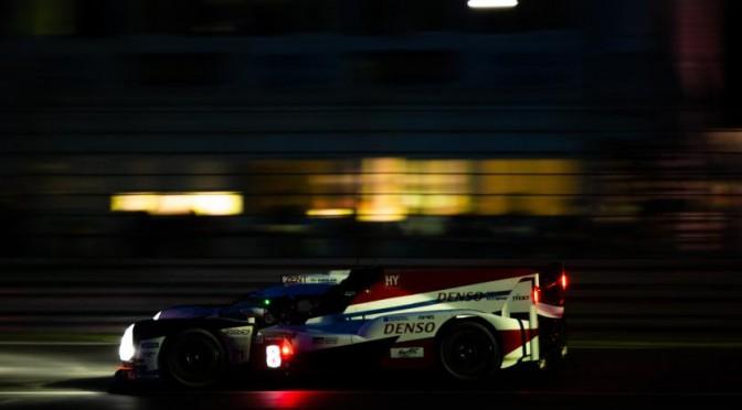 Toyota / Nakajima On Provisional Pole At La Sarthe (14.06.18)