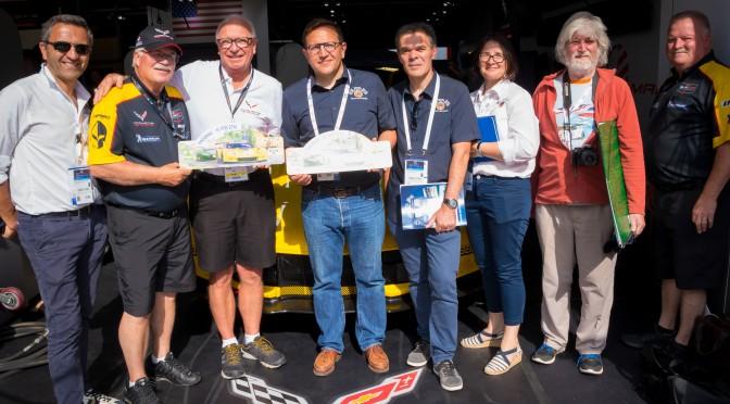 Virage de Mulsanne - Corvette Racing